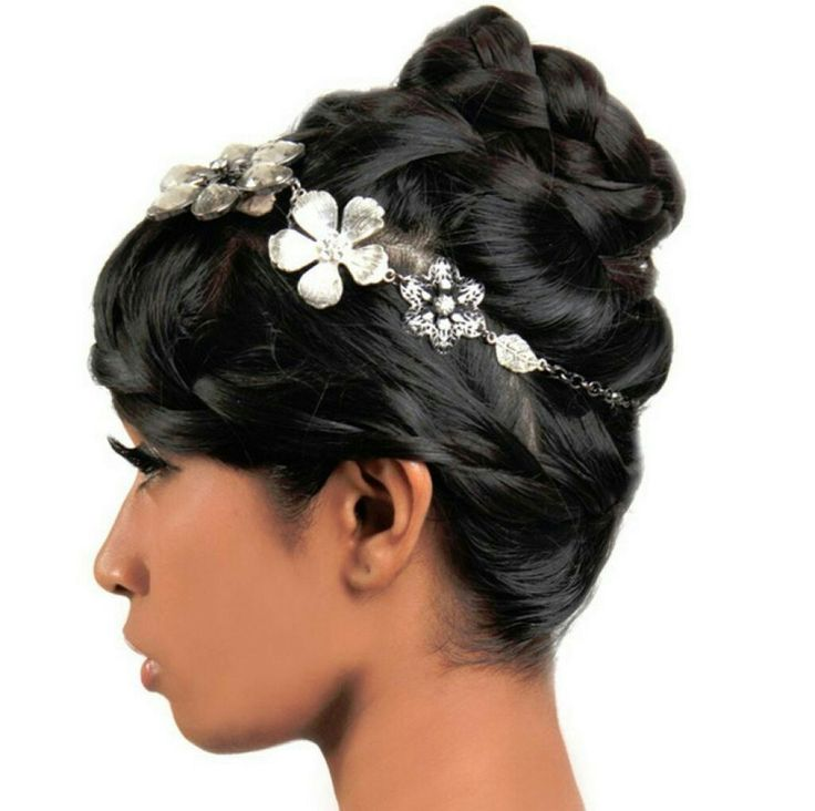 Wedding Hairstyles For African American Women: 9 Best Perfect Black Prom Hairstyles Images On Pinterest