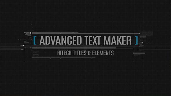Advanced Text Maker by Madlistudio on Envato