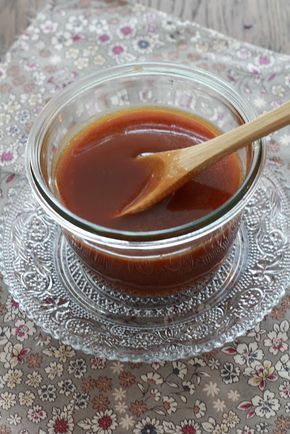 Caramel inratable express en 5 minutes au micro ondes au beurre salé !!   Finistère Bretagne #myfinistere