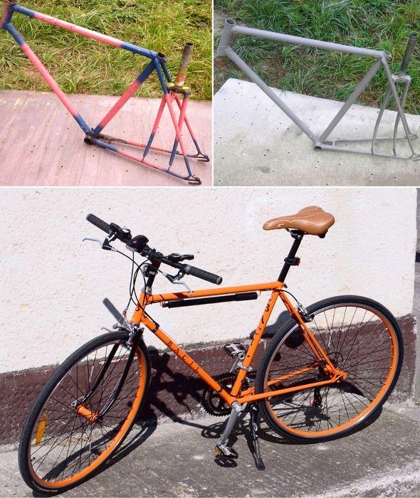 Bicykel striekať