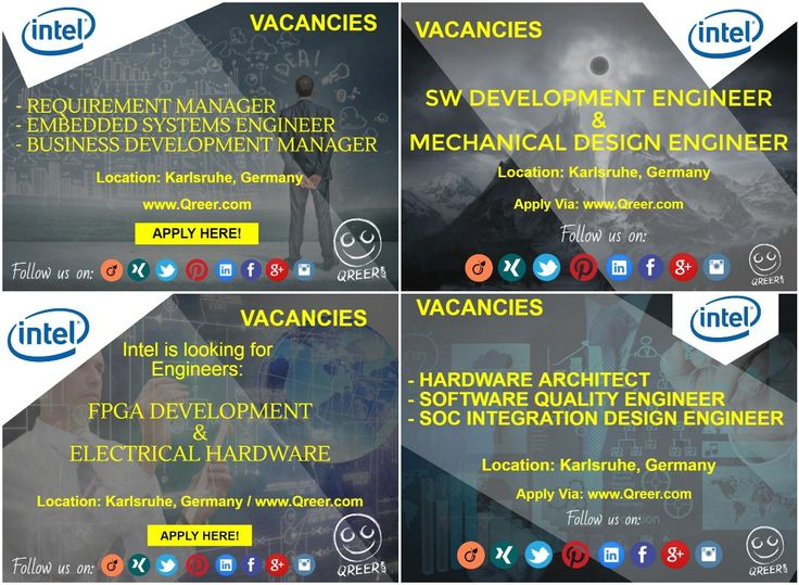 56 best Technical Jobs In Europe images on Pinterest Engineers - intel component design engineer sample resume