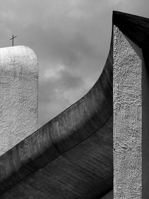 Le Corbusier: Chapelle Notre, Chapel Notre, Of High, Le Corbusier, Discover Architecture, Lecorbusier, Lady, Architecture Photography, Our Lady
