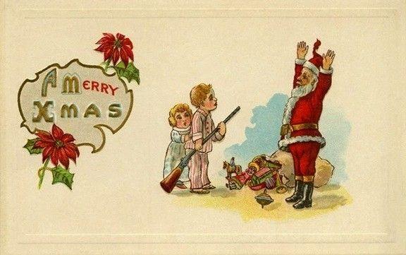 ヴィンテージクリスマスカード