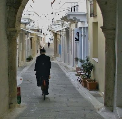 #andros #greece Totally walked on this beautiful street in Andros