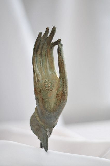 *Vitaka Mudra, The Gesture of Debate, explaining the Buddha's teachings with the hands raised and the tips of the forefingers and the thumbs touch each other.  #East #Asia #Buddha