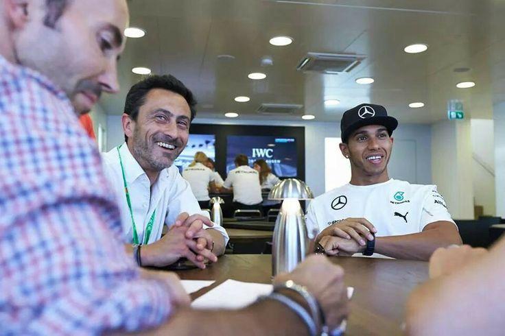 Team Mercedes Petronas