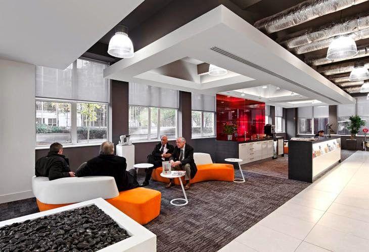 M s de 1000 ideas sobre oficinas modernas en pinterest for Decoracion oficina creativa
