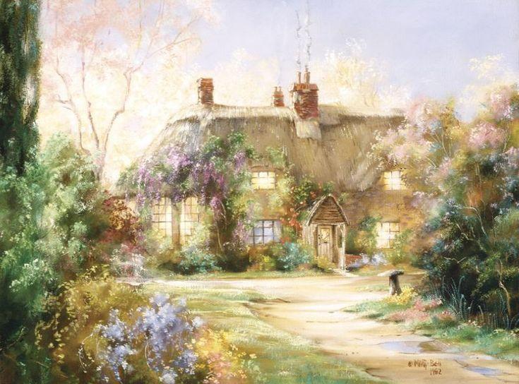 Я хочу построить дом, чтоб его оконца Открывались, как глаза, с первой каплей солнца, Чтоб дышал он красотой от черёмух белых, Чтоб по крыше дождь грибной барабанил смело.