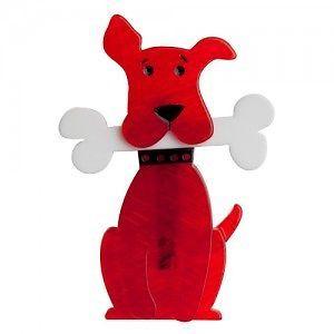 Erstwilder 'Tuffy'S Puppy Treat' DOG Brooch Free Gift Discounts Apply | eBay