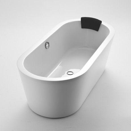 Solo 1700 Oval Lucite Acrylic Bath