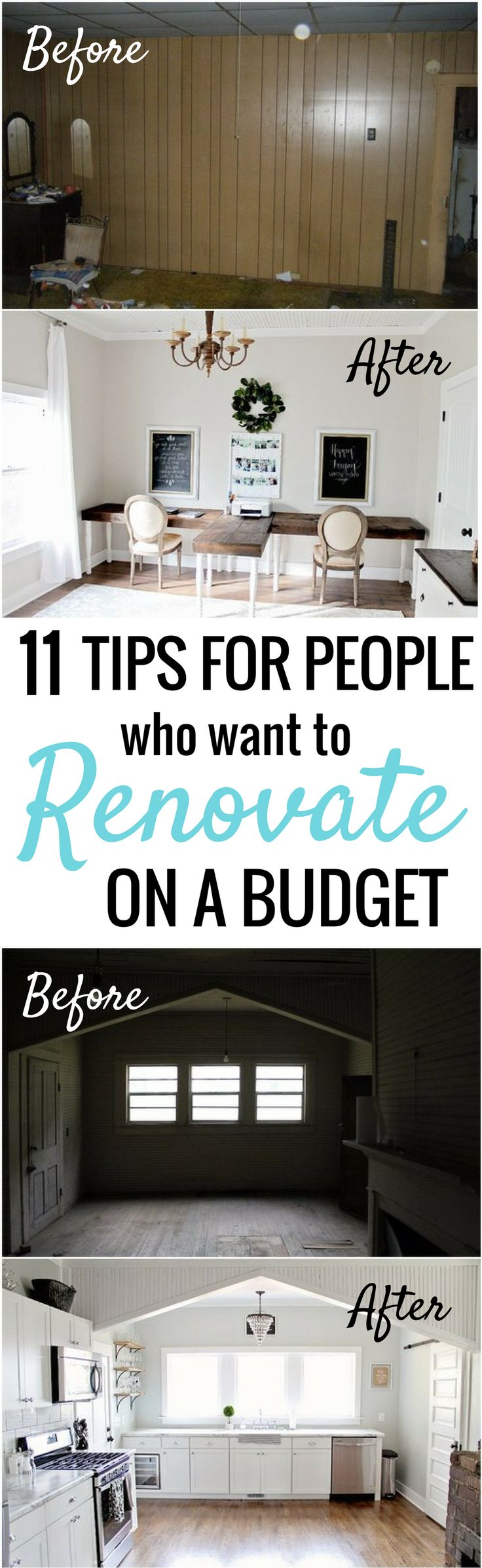 How she renovated and decorated her home on a budget is SO COOL! I'm so happy I found these AMAZING tips on decorating on a dime! Now I have some great cheap home decor ideas! Definitely pinning!