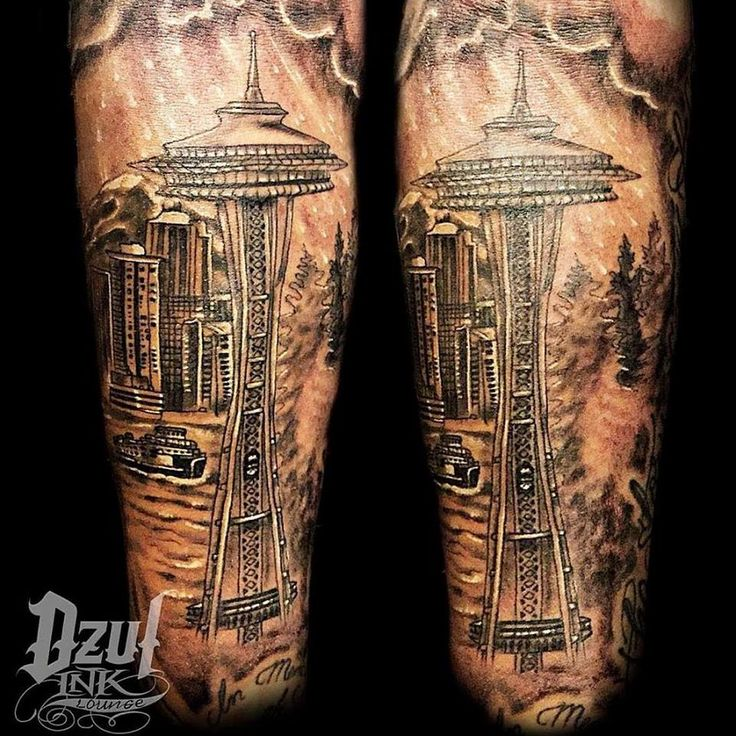 17 best images about seattle tattoos by dzul on pinterest fresh artworks and we. Black Bedroom Furniture Sets. Home Design Ideas