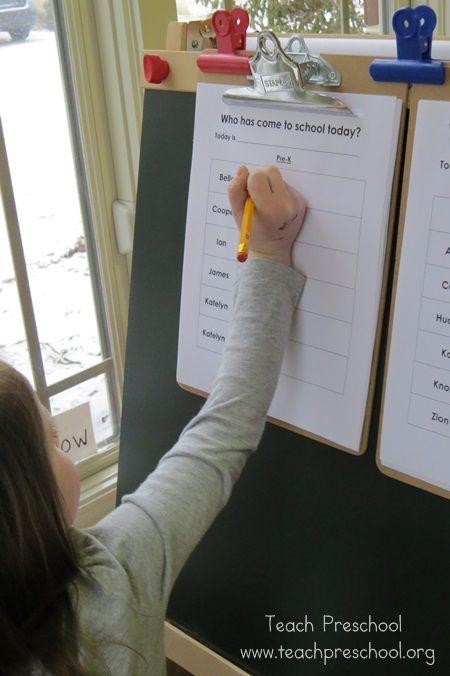 Our daily schedule in preschool by Teach Preschool