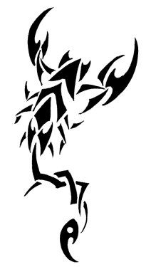 maybe this design for my scorpion tattoo?
