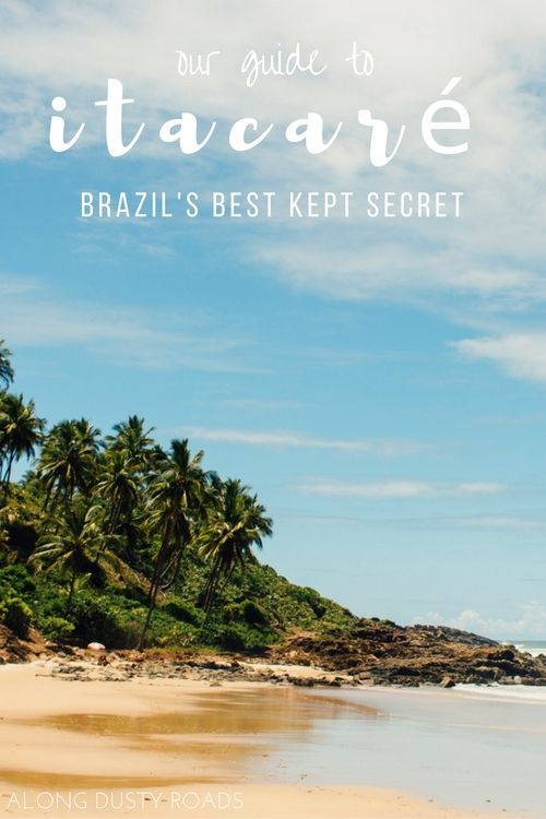 Our favourite place in Brazil wasn't the party metropolis of Rio or the roaring waters in Iguazu Falls, it was here, in this tiny beach town on Bahia's Cocoa Coast. Heading to Latin America's behemoth? Itacaré needs to be on your itinerary! Click on the pin for our great guide.