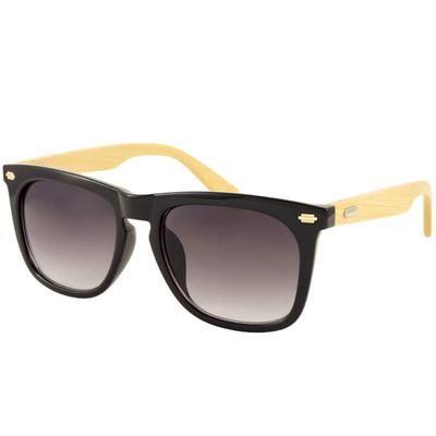 """Ξύλινα Γυαλιά Ηλίου Bamboo Wayfarer """"Oslo""""-BLACK-e-chap"""