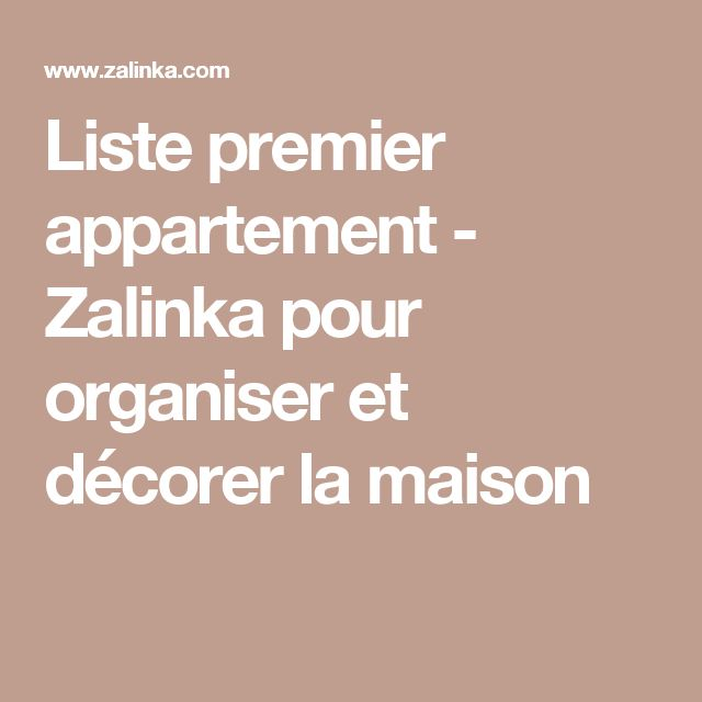 les 25 meilleures id es de la cat gorie premier appartement sur pinterest liste de contr le de. Black Bedroom Furniture Sets. Home Design Ideas