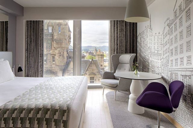 Amazing Room Amazing Views. Amazing City! This Is the G&V Royal Mile Hotel In Edinburgh. #bestbritishhotels #hotels #hotel #ukhotels #uk #greatbritain #edinburgh #scotland #visitscotland #views #roomwithaview #bedroomdesign #bedroomdecor #wanderlust #tourist #travel #traveltheworld #travelinspo - Architecture and Home Decor - Bedroom - Bathroom - Kitchen And Living Room Interior Design Decorating Ideas - #architecture #design #interiordesign #diy #homedesign #architect #architectural…