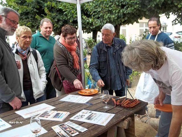 Au Fil de Loire: Participation à la fête de la pomme de terre à Lerné
