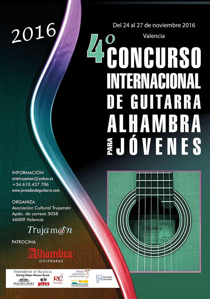 4º Concurso Internacional de Guitarra Alhambra para Jóvenes