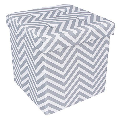 SONGMICS-Chevron-Storage-Ottoman-Cube-Collapsible-Footrest-W-Storage-ULSF30V-0