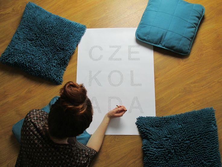 plakaty do kolorowania
