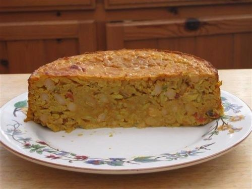 Baked Bean Curry Loaf