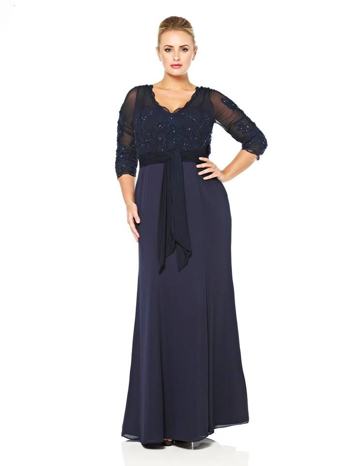 evening dresses plus size macy's