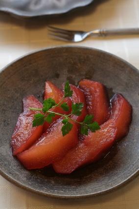 陶板土鍋でスイーツ「アップルシナモンコンポート」|レシピブログ