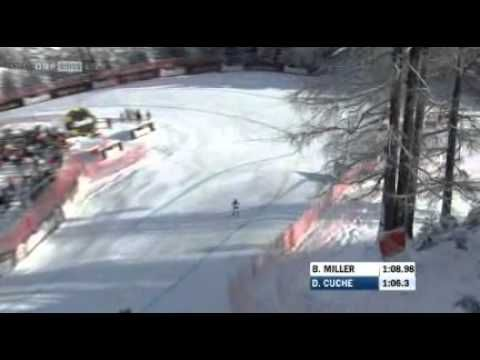 ▶ Kitzbühel 2011 Abfahrt - Siegesfahrt Didier Cuche - YouTube