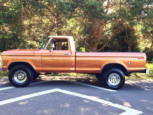 1974 F250 Highboy Truck Ford F150 Ranger Xlt 4x4 Longbed 1975 1973 1977 1978 For Johnny Pinterest Trucks And