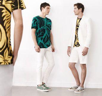Zara para hombre presenta su catálogo para mayo de 2014 con chaquetas, camisas y camisetas