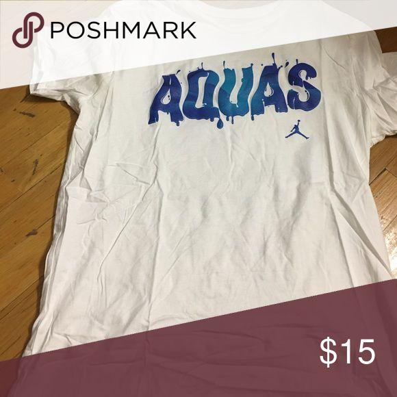 Jordan Aquas tshirt Excellent condition Jordan Shirts Tees - Short Sleeve