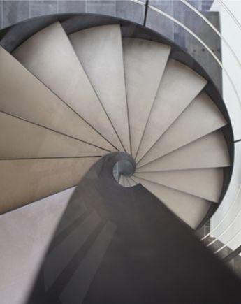 8 best escaliers colimaçon carré images on Pinterest Staircases - decoration portes d interieur