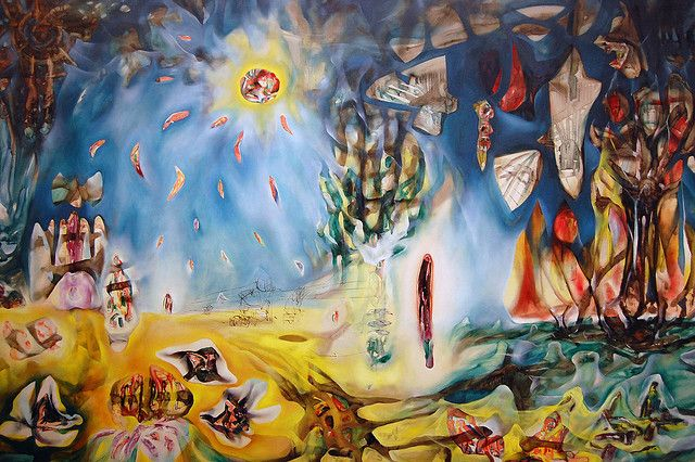 'The Earth is a Man' by Roberto Matta