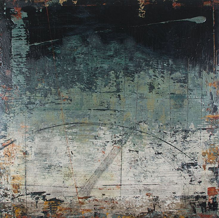 """Casual Snooze - Dreamscape Series 35""""x35"""" http://abstracthinker.tumblr.com"""