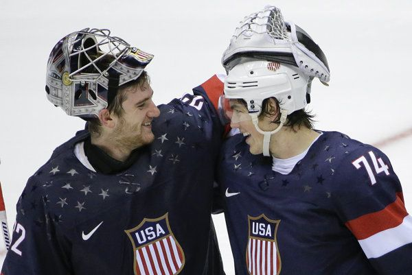 """T.J. Oshie should be saluted for pointing out true meaning of """"hero"""". """"The American heroes are wearing camo,"""" he replied. """"That's not me."""""""