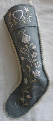 Blue Matyo stocking