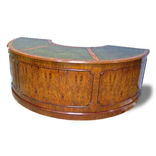 semi round desk