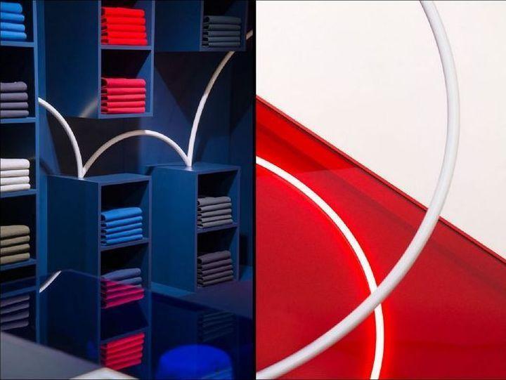 Retail campaign for Lacoste store by Bonsoir Paris, Paris – France » Retail Design Blog