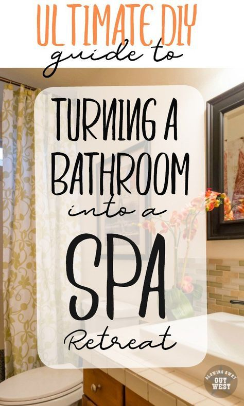 Ultimate DIY Guide To Creating A Spa Bathroom Retreat | Design | Pinterest  | Spa Bathrooms