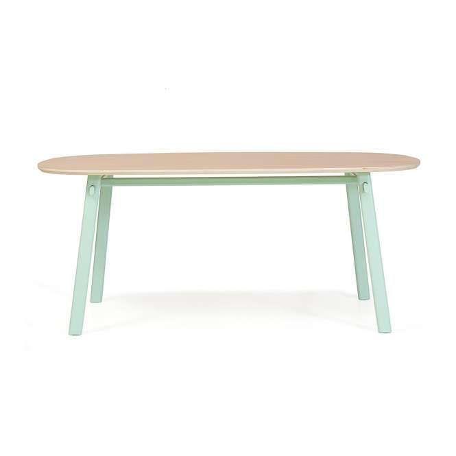 Harto Esstisch Celeste Weissgrun Moebel Liebe Com Esstisch Esszimmerdesign Tisch