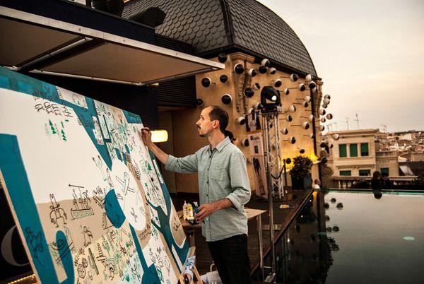Expedia worldmap 1 Iván Bravo: «El lenguaje visual es mi forma de expresión preferida»