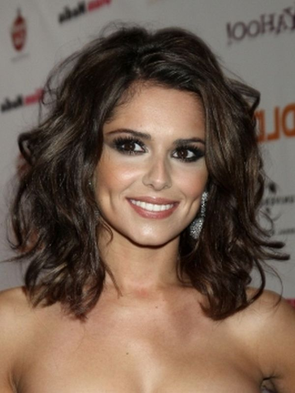 medium length hairstyles for curly thick hair