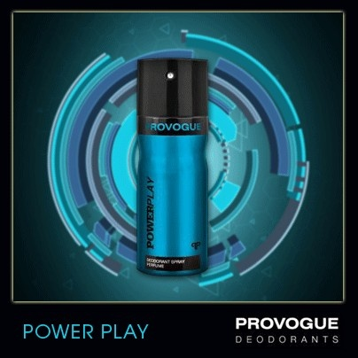 Provogue's Power Play deo is the scent for the man who always has the upper hand, whatever be the game!