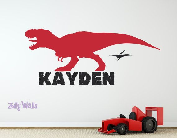 Best Robbt Images On Pinterest - Custom vinyl wall decals dinosaur