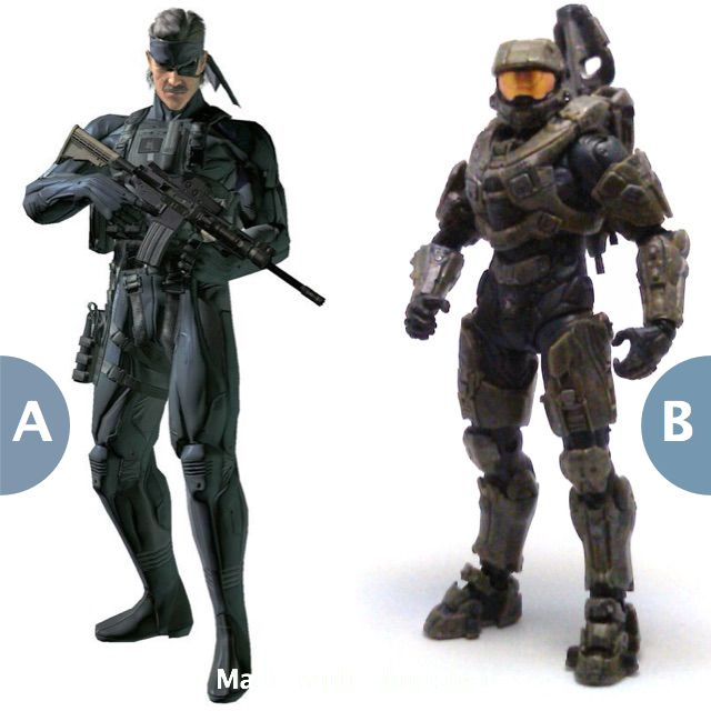 Rather become Solid Snake or Master Chief? Click here to vote @ http://getslingshotapp.com/share/89036