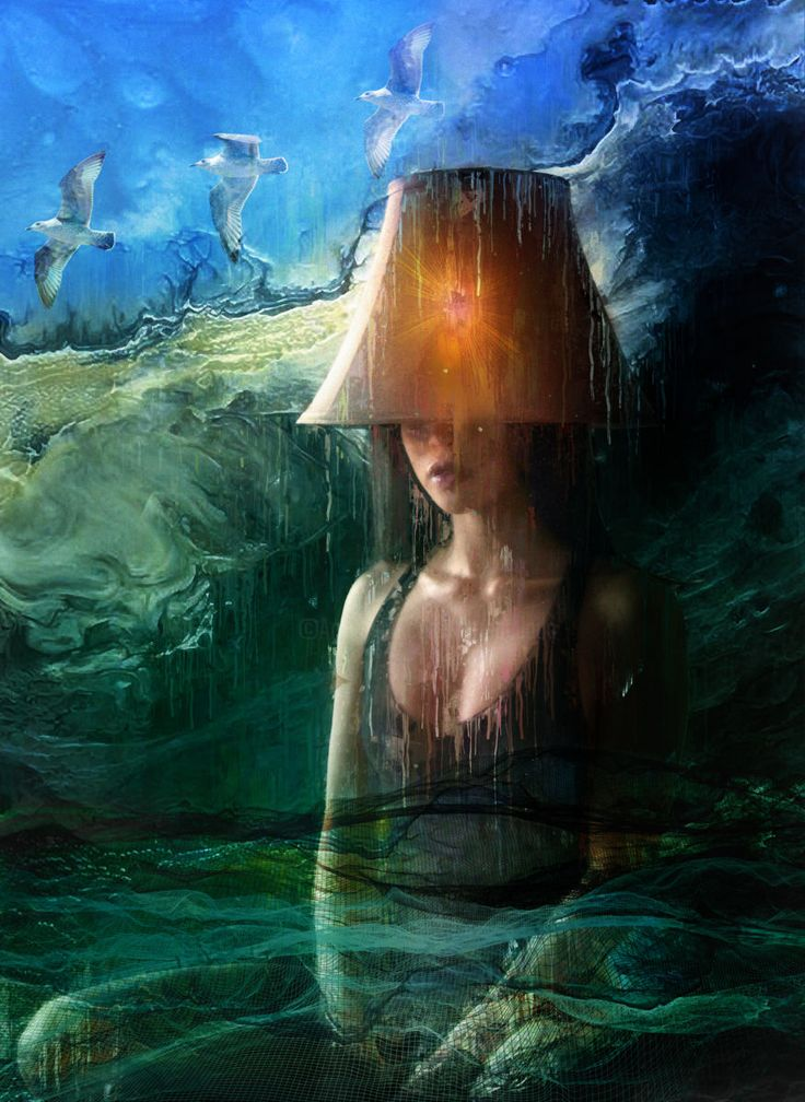 Le phare du Craech (Digital Arts) by Dodi Ballada Le phare du Craech, digital painting by Dodi Ballada
