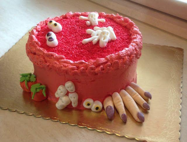 I miei hobby: Halloween cake