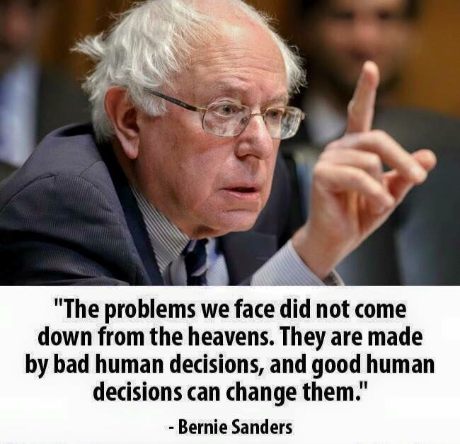 Whether one supports Sanders or Clinton for the Democratic nomination, there is truth in this.
